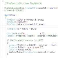 ソフトを作っています